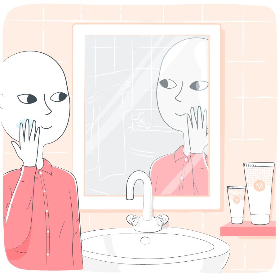 prendre soin de sa peau - cancer - homme - beaute - hydratation