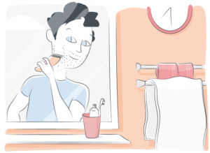 prendre soin de sa peau - cancer - homme - beaute- rasage