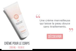 Crème hydratante corps MÊME cosmetics