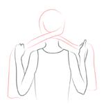 tuto nouage foulard turban d'orient 4