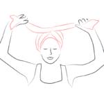 tuto nouage foulard turban d'orient 6
