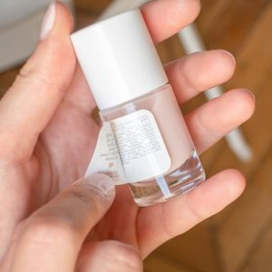liste INCI vernis à ongles Silicium MÊME