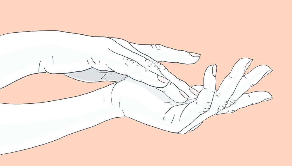 mains sèches et gercées soins hiver-même cosmetics