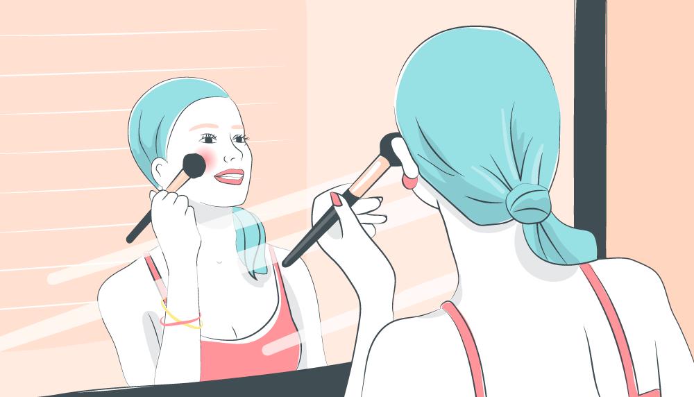 Composition toxique maquillage