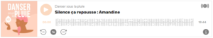 Témoignage Amandine