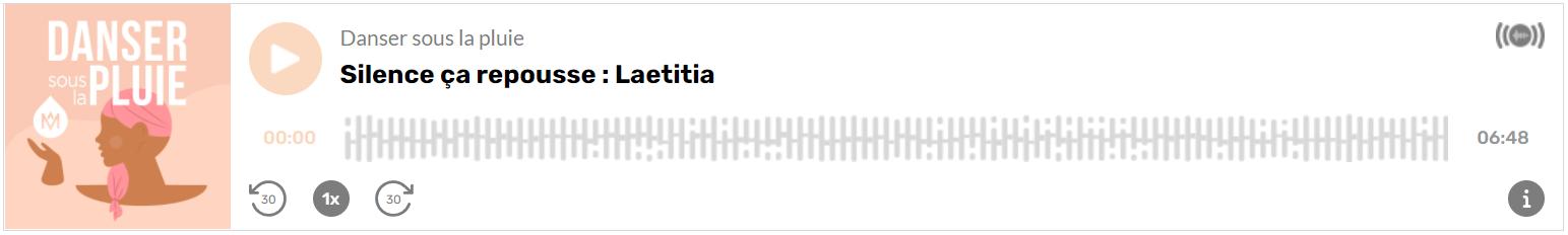 Témoignage Laetitia