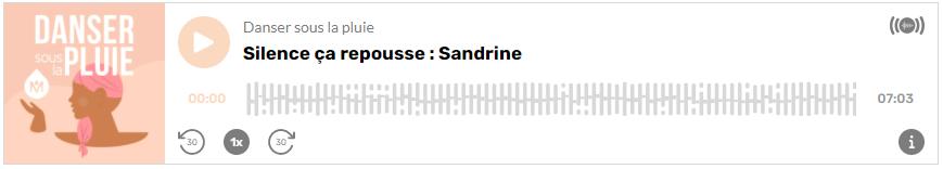 Témoignage Sandrine