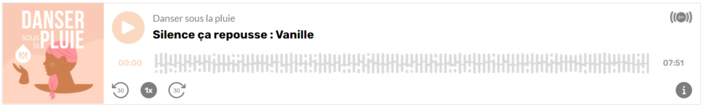 Témoignage Vanille